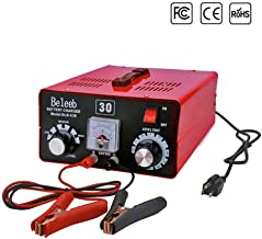 Battery Charger 12V/24V/36V/48V/60V/72V Automatic Maintain, Voltage and Current Manually Adjusted, with Clips Ammeter, Suitable for Car Truck Golf Cart RV Marine Yacht Mower AGM SLA ATV ISS 40Ah-200Ah