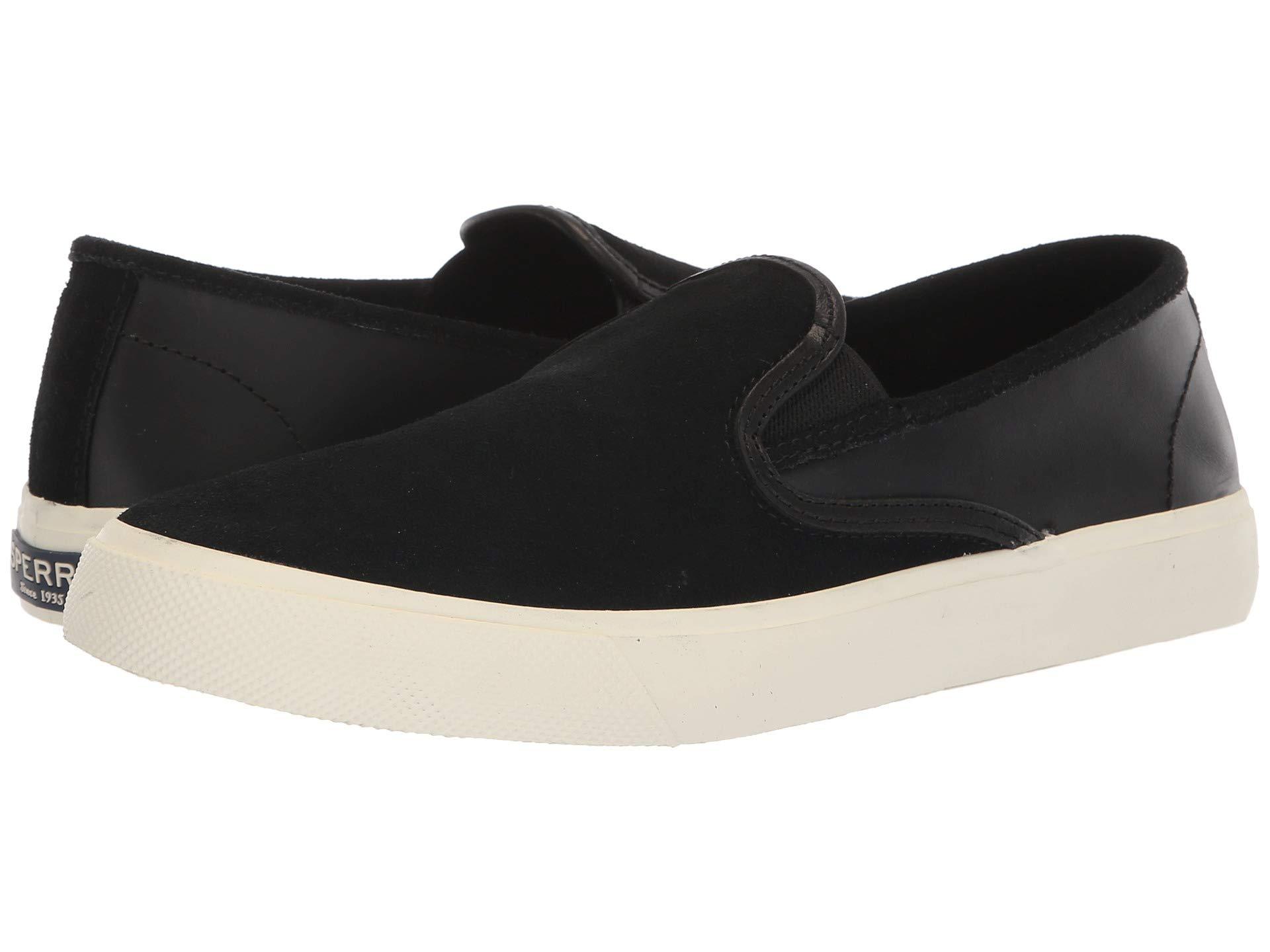 SPERRY Men's Captain's Slip on Leather Sneaker