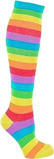 Women's Rainbow Socks - Bright Colored Pride Socks for Women