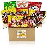 Guksu-Box mit 8 koreanischen Ramen - Ausgewählter Mix aus vielseitigen Geschmacksrichtungen - Korea