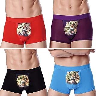 Men's Underpants Slip Vintage Casual Soft Fashion Modern Boxer Shorts Breathable Comfortable Basic Underpants Boxer Panty