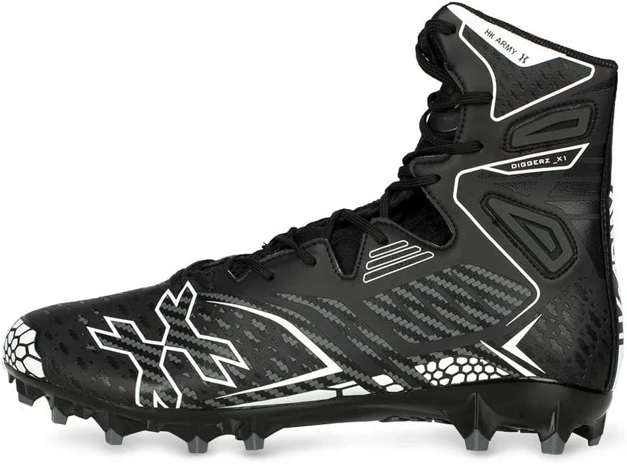 HK Army Digger X1 Hightop 2021 Paintball Black 14 Grey - Cleats Max 82% OFF