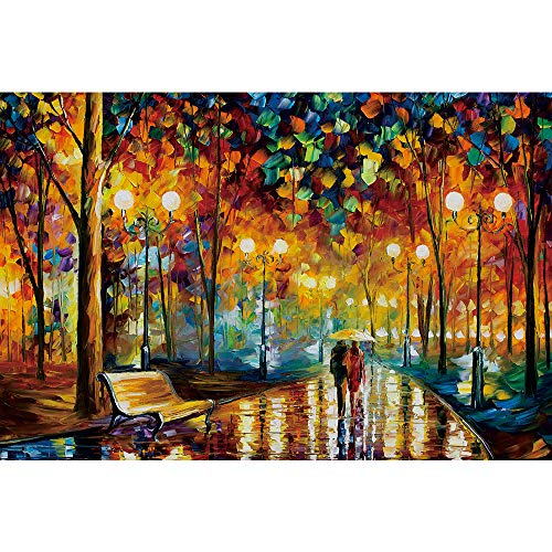 Ingooood Rainy Night Walk Puzzle de Madera 1000 Piezas