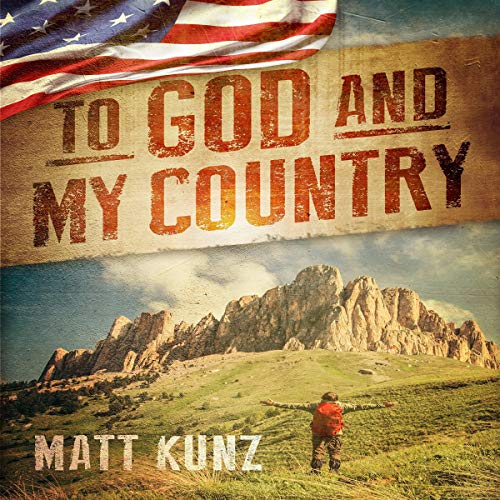 To God and My Country audiobook cover art