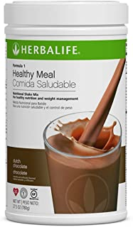 Herbalife Formula 1 Healthy Meal Nutritional Shake Mix (10 Flavor) (Dutch Chocolate)