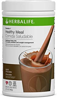 Herbalife Formula 1 Healthy Meal Nutritional Shake Mix (10 Flavor) (Dutch Chocolate)