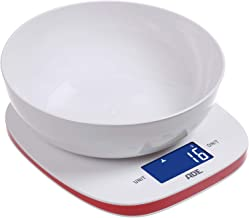 Generic 5Kg Digital Kitchen Scale and Food Scale with Free Bowl and Tare Function White