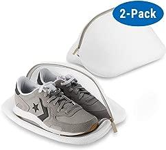 Ecooe Paquete de 2 Bolsas Premium de Malla de Lavandería para Zapatos / Zapatos de deporte, Red de Lavandería de Protección Múltiple, Bolsa de Lavandería para Viajes