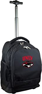 NCAA Expedition Wheeled Backpack, 19-inches, Black