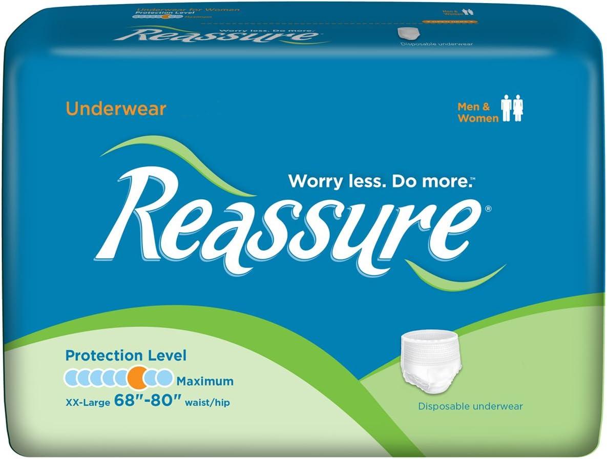 Reassure Max Large special price !! 86% OFF Underwear Maximum 2XL 48 68