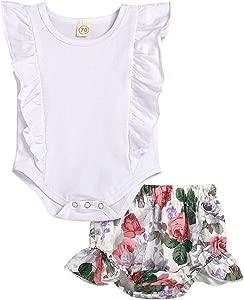 JYC Outfits Set Infant Baby Kid Girl Bodysuits Rompers Dresses Skirt Trouser Short  amp  Top Sets Pyjama Sleepwear Vests