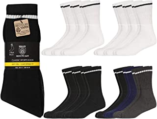 Iron Mountain IMSCK222 Unisex Soft Sports 12 Pack Sock, Multiple Colours, One Size