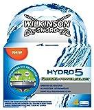 Wilkinson - Hydro 5 Groomer & Power - Lames de rasoir pour Homme - Pack de 4