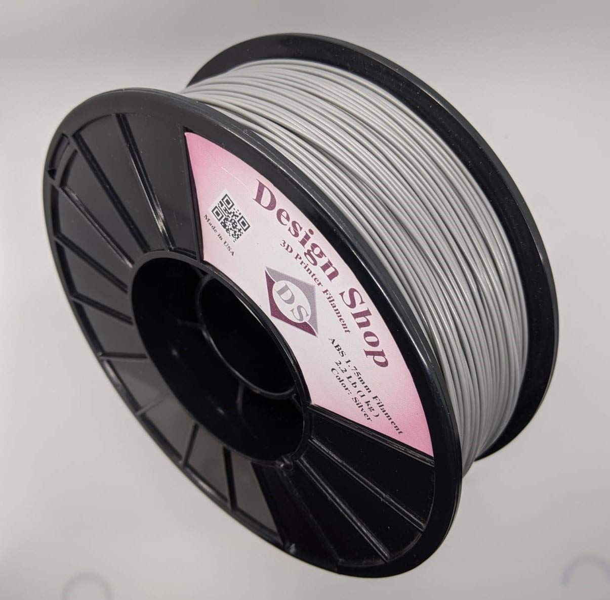 ! Super beauty product restock quality top! 3D ABS Printer Filament 1.75mm Silver - 1Kg USA lbs 100% Direct stock discount 2.2