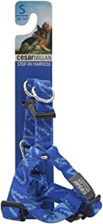 Cesar Millan Step-in Harness, Small, 10-14 inches, Blue