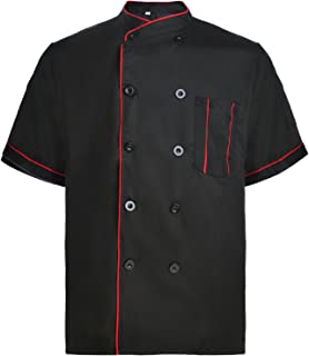 Best single breasted chef coat Reviews