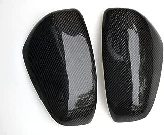 Eppar New Carbon Fiber Mirror Cover 2PCS Compatible with Nissan 370Z 2008-2017