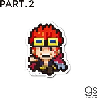 【PART.2】 全40種 ピクセルワンピース ミニサイズ ONE PIECE ドット絵 アニメ キャラクターステッカー OPXS2 gs 公式グッズ (藤虎)