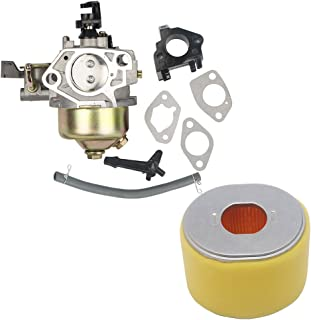 OuyFilters Paquete de carburador con filtro de aire para cortacésped Gx340 Gx390 11hp 13hp motor nuevo
