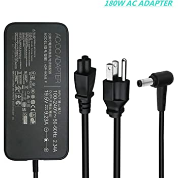 Uniq-bty AC//DC Adapter for ASUS ROG G701VO 90NB0CS1-M00030 G701VO-CS74K Gaming Notebook PC Power Supply Cord Cable PS Charger Mains PSU