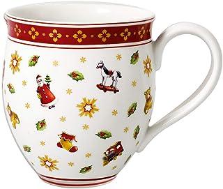 comprar comparacion Villeroy & Boch Toy's Delight Taza Grande, 440 ml, Porcelana Premium, Blanco/Rojo