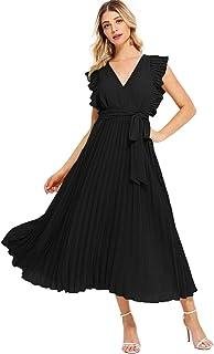 f5b2c978c40ee3 Amazon.fr : robe longue manche longue : Vêtements