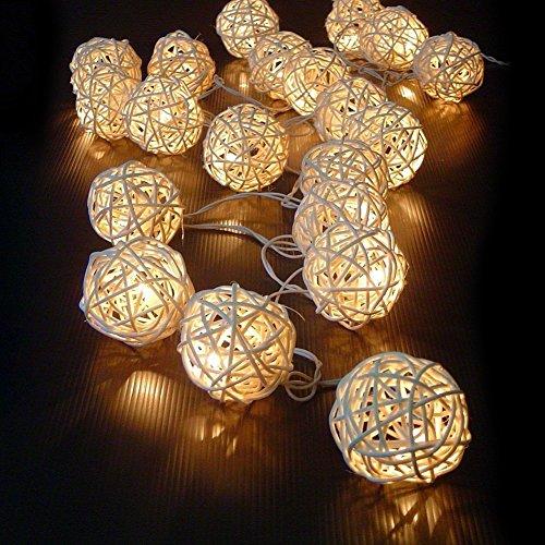 kingtoys 20 LED della Batteria luci leggiadramente della stringa per il Natale, Matrimonio e decorazione del partito