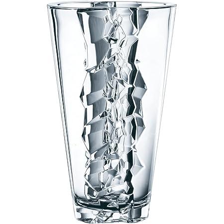 Amazon Com Nachtmann Ice 11 Inch Lead Crystal Vase Decorative Vases Kitchen Dining
