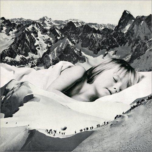 Posterlounge Leinwandbild 20 x 20 cm: Silent Rescue von Sammy Slabbinck - fertiges Wandbild, Bild auf Keilrahmen, Fertigbild auf echter Leinwand, Leinwanddruck