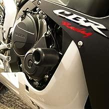 Shogun 2007 2008 Honda CBR600RR CBR600 Black No Cut Frame Sliders - 750-3319 - MADE IN THE USA