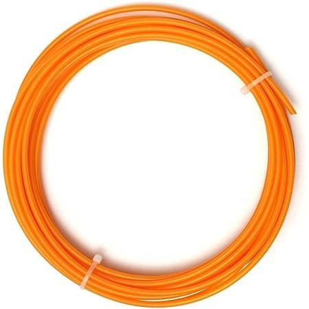 Invento 10 meter 1.75mm Orange PLA Filament 3D Printing Filament For 3D Pen 3D Printer