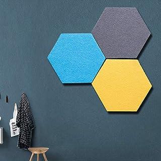 UYZ Juego de Tablero de Fieltro Hexagonal: Parte Trasera Totalmente Adhesiva, CREA el tuyo Propio en Cualquier Lugar de tu...