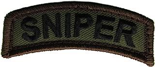 Sniper Tab Patch (WOODLAND (Olive Drab))