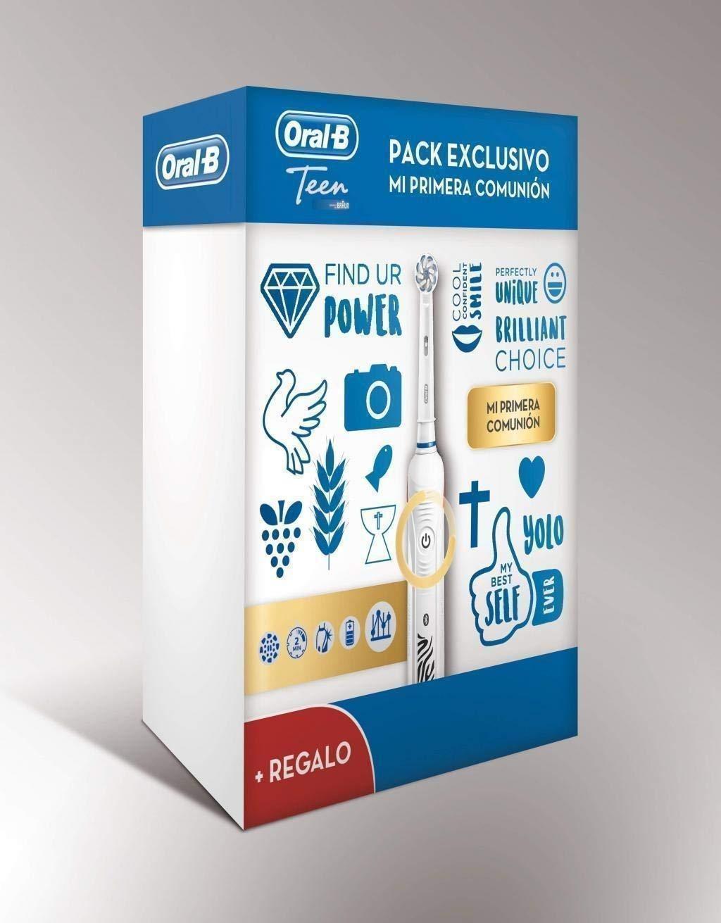 PACK CEPILLO DENTAL BRAUN D601 TEENS 1ª COMUNION: Amazon.es: Hogar