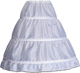 Girls' 1 2 3 Hoops Petticoat Full Slips Flower Girls...
