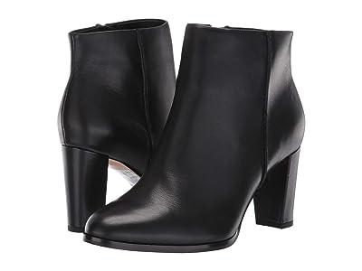 Clarks Kaylin Fern (Black Leather) Women