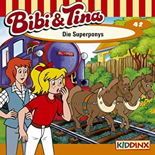 Die Superponys audiobook cover art