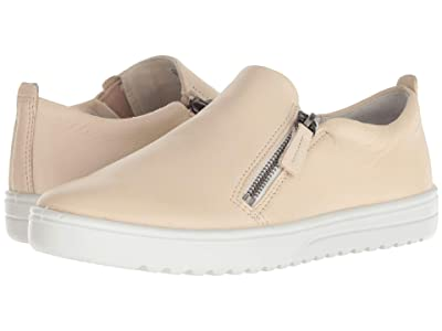 ECCO Fara Slip-On (Vanilla Metallic Cow Leather) Women