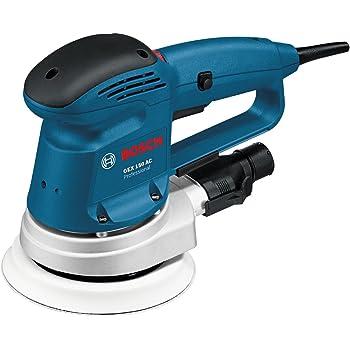 Bosch Professional Ponceuse excentrique Filaire GEX 150 AC (Ø du plateau de ponçage: 150mm, pack d'accessoires, boîte carton)