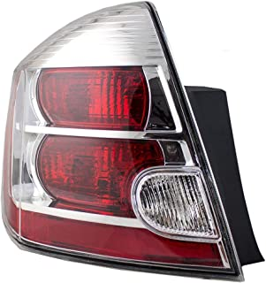 Nissan Sentra 2.0L Replacement Tail Light Assembly - Driver Side