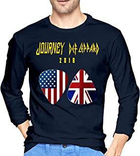 Man Journey Def Leppard 2018 Long Sleeves T Shirts