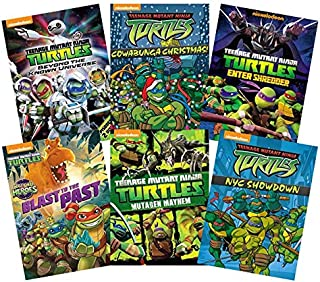 Ultimate Teenage Mutant Ninja Turtles: Volume 1 (6-DVD Nickelodeon TMNT Collection): Beyond the Universe/Cowabunga Christmas/Enter Shredder/Blast to the Past/Mutagen Mayhem/NYC Showdown