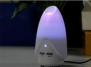 HL USB cichy mini nawilżacz powietrza samochód aromaterapia do oczyszczania powietrza wewnątrz samochodu, biały, 8 * 7 * 1...