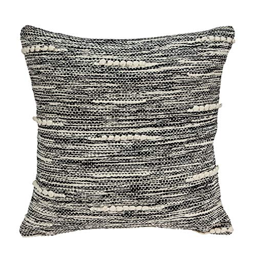 Parkland Collection Fresa Transitional Beige Throw Pillow Cover