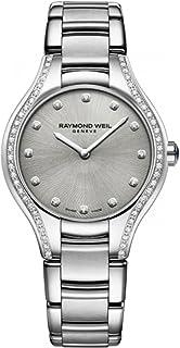 Raymond Weil - Reloj de mujer cuarzo suizo correa de acero 5132-STS-65081