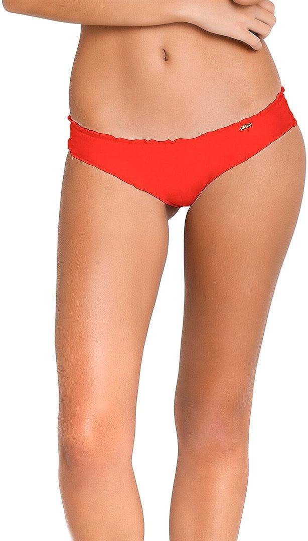Luli Fama Special price Women's Soldering Cosita Buena Wavey Back Bot Full Bikini Ruched