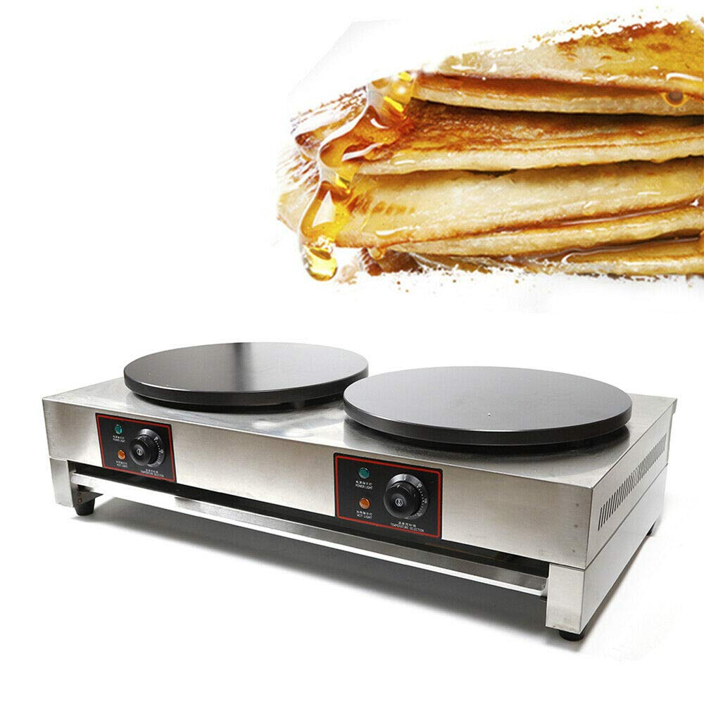 Gifts Commercial 16 inch Heavy Duty Dual Crepe 110V Excellence Cre Electric Maker