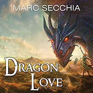 Dragonlove audiobook cover art