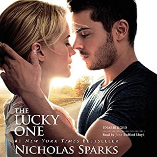 The Lucky One                   Written by:                                                                                                                                 Nicholas Sparks                               Narrated by:                                                                                                                                 John Bedford Lloyd                      Length: 10 hrs and 24 mins     5 ratings     Overall 4.4