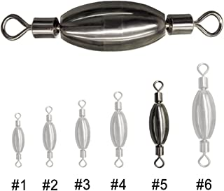 Acekit Quick Set Up Brass Fishing Sinker with Inner Swivel